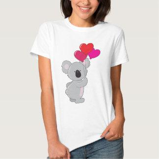 Koala-Herz-Ballone Shirts