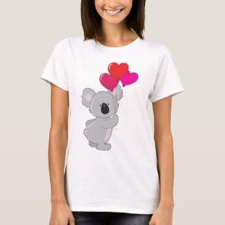 Koala-Herz-Ballone T-Shirt