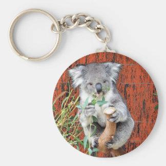 Koala-Imbiss-Zeit Schlüsselanhänger