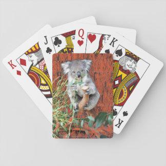 Koala-Imbiss-Zeit Spielkarten