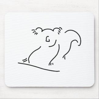 koala koalabaer asien china mousepads