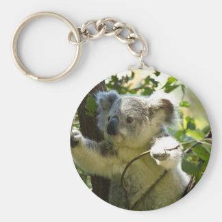 Koala-Süsse Standard Runder Schlüsselanhänger
