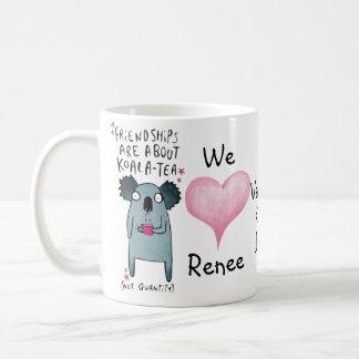 Koala-Tee nicht Quantitäts-Tasse Freundschaft Kaffeetasse