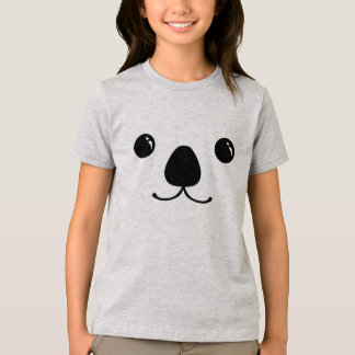 Koala-Tier-Gesichts-Entwurf T-Shirt
