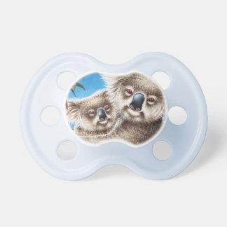 Koala und Baby Schnuller