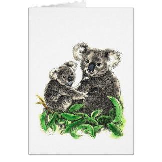 Koalaanmerkungskarte Karte