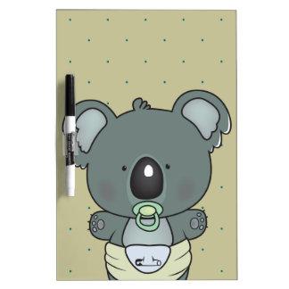 Koalababy Trockenlöschtafel