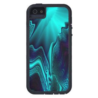 Kobalt-Blau-Achat-Stein Tough Xtreme iPhone 5 Hülle