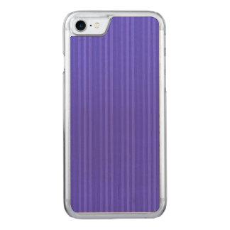 Kobalt-Blau-vertikale Streifen Carved iPhone 8/7 Hülle