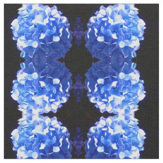 Kobalt-BlauHydrangea Stoff
