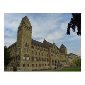 Koblenz Amtsgericht/Hall von Gerechtigkeit Postkarte