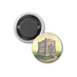 Kobold-Bank-runder Magnet vom unwirklichen Anwesen