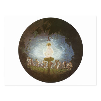 Kobold-Druck durch Richard Dadd Postkarte