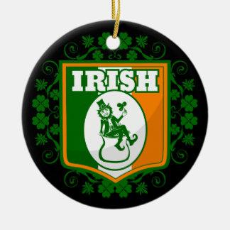 Kobold-Gold St. Patricks Tages Keramik Ornament