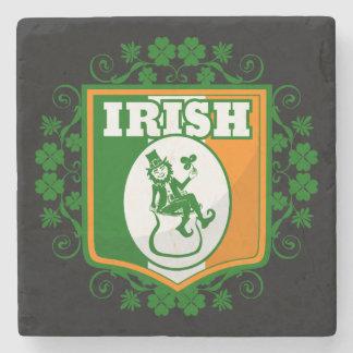 Kobold-Gold St. Patricks Tages Steinuntersetzer