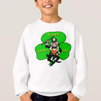 Kobold-Kleeblatt St. Pattys Tages Sweatshirt
