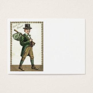 Kobold-KleeblattHobo Bindle Jumbo-Visitenkarten