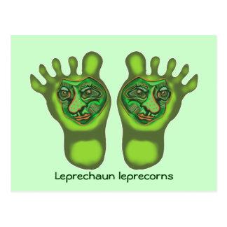 Kobold leprecorns postkarte