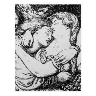 Kobold-Markt [Christina Rossetti] Postkarte