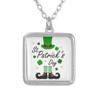 Kobold St. Patricks Versilberte Kette