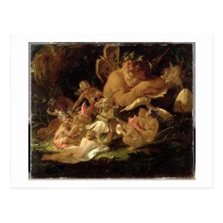 Kobold und Feen, von 'einem Dream der Postkarte