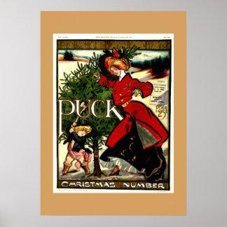 Kobold-Zeitschriften-Weihnachten 1900 Poster