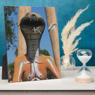 Kobra-Kopf-… buddhistische Hölle Herr-Snake AKA Fotoplatte