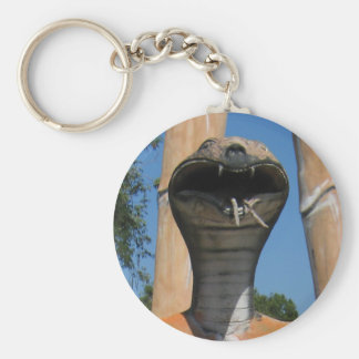 Kobra-Kopf-… buddhistische Hölle Herr-Snake AKA Schlüsselanhänger