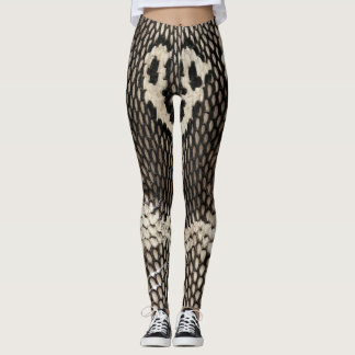 Kobra-Schlangen-Haut-coole Leggings