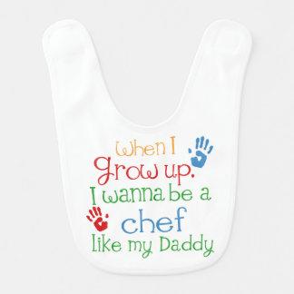 Koch mögen meinen Vati-Baby-Schellfisch Lätzchen