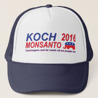 Koch Monsanto Hut 2016 Truckerkappe