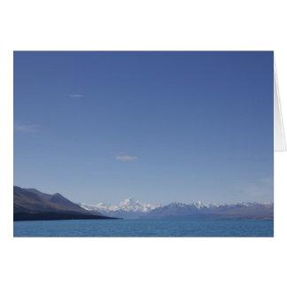 Koch Mt Aoraki/Mt, See Pukaki, Neuseeland Karte