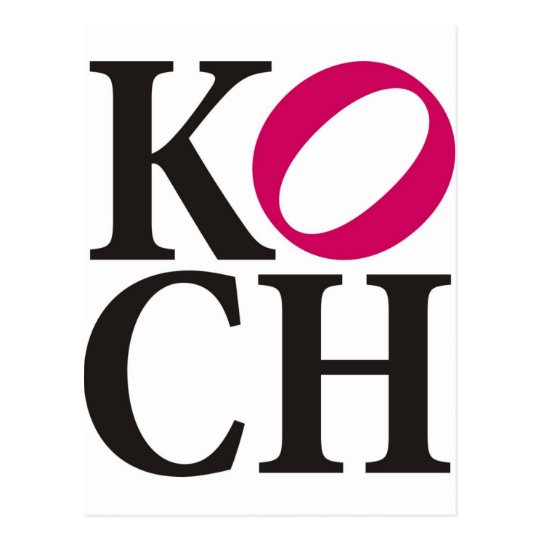 Koch Postkarte