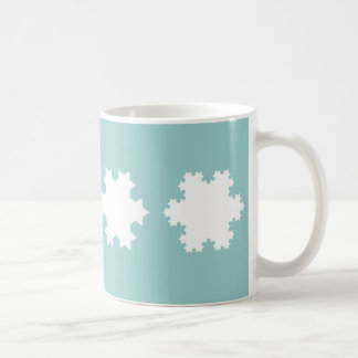 Koch Schneeflocken Kaffeetasse
