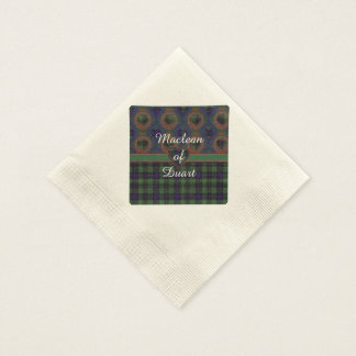 Kochclan karierter schottischer Kilt Tartan Papierserviette