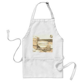 Kochen der Koch-Köche, die Küche backen Schürze