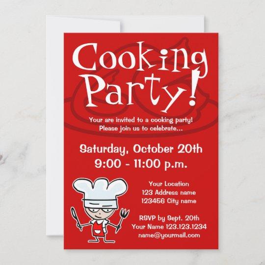 Text einladung zum kochen Kochen Einladungstexte