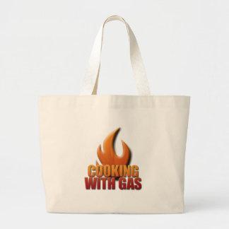 Kochen mit Gas Taschen