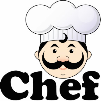 Kochs-Gesicht Foto Ausschnitt