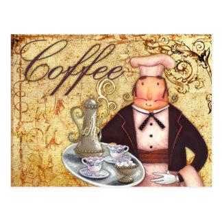 Kochs-Kaffee Postkarte