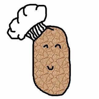 Kochs-Kartoffel! Freistehende Fotoskulptur