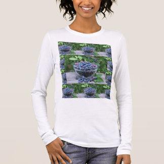 Kochs-Küchecuisine-Blaubeerveggie-Rezept Langarm T-Shirt