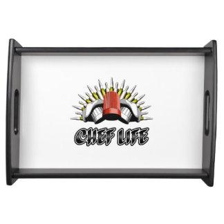 Kochs-Leben: Gebäck-Art Tablett