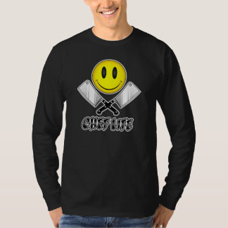 Kochs-Leben: Metzger-smiley T-Shirt