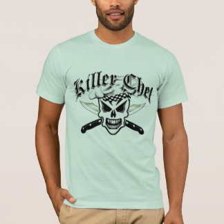 Kochs-Schädel und gekreuzte Kochs-Messer 2 T-Shirt