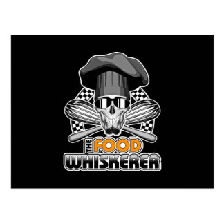 Kochs-Spaß: Nahrung Whiskerer v3 Postkarte