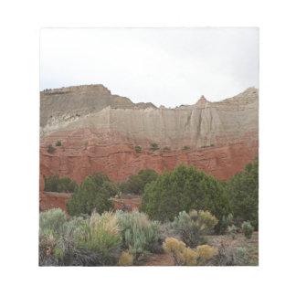 Kodachrome Becken-Staats-Park, Utah Notizblock