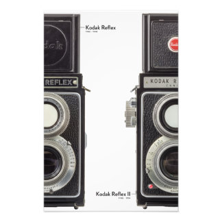 Kodak-Reflex I und Kodak-Reflex II Fotodruck