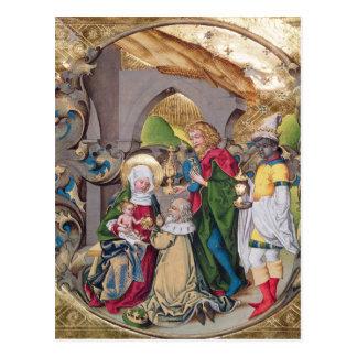Kodex 15,501 die Verehrung der Könige Postkarte