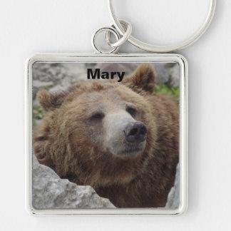 Kodiak-Bär Schlüsselanhänger